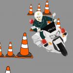 【自動二輪免許】スラローム、絶対にタイムを切れるコツ